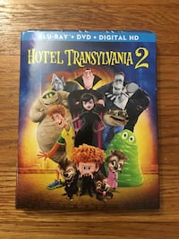 Hotel Transylvania 2 blu ray dvd digital new  Pelham, 03076