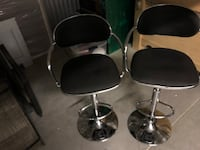 Quality  Leather Bar -Stools $130 for BOTH  Toronto, M1B 5M3