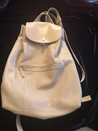 women's white leather backpack Longchamp  Laval, H7X 3N3