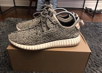 Pair of gray adidas yeezy boost 350 Vaughan, L0J 1C0