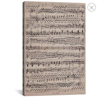 Music Note Canvas Los Angeles, 90034