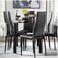 Aubree Upholstered Dining Chair | Set of 6 Brampton