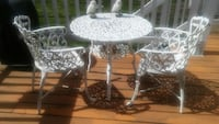 PATIO TABLE & CHAIRS PRICE FIRM