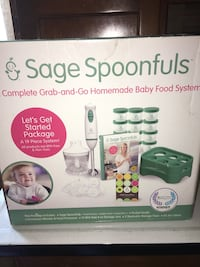 Sage Spoonfuls Grab & Go homemade baby food system