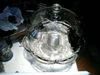 clear glass cake stand Bonifay, 32425