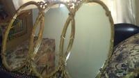 Antique triple mirror Mobile