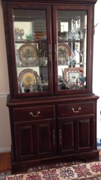 brown wooden china cabinet screenshot Kensington, 20895