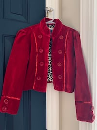 Girl size 7/8 red jacket