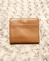 New! Fossil Leather wallet paid $38 never used