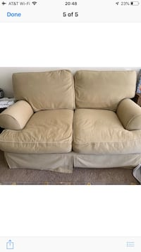 Beige Love seat  Woodbridge, 22191
