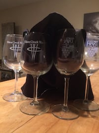 (7) Collectible Wine and Champagne Glasses Newport Beach, 92663
