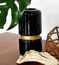 Black and Gold Vase Vancouver
