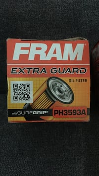 2 oil filters never been used Edmonton, T5A 4A4