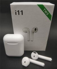 New in box Generic Apple style ear pod earphone Bluetooth headset rechargeable with charging case like airpods Los Angeles, 90032