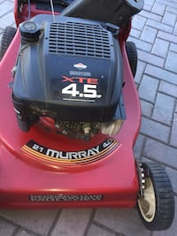 red and black Craftsman push mower Mississauga, L4Y 2T2