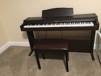 Digital Piano and matching bench