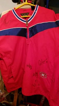 Hockey Canadiens  de rater lg signed Montreal