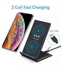Wireless fast charger for iphone X, XS, 11.... new inbox Montréal, H3N 1H1