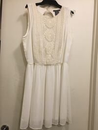 women's white sleeveless dress 726 km