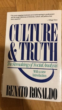 Culture & Truth, The Remaking of Social Analysis Los Angeles, 90037