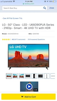 black flat screen TV screenshot Overland Park, 66210