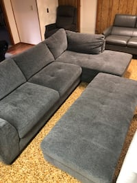 Sofa and storage ottoman