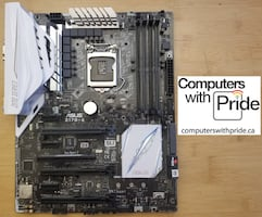 ASUS Z170-A Gaming Motherboard with 30 day warranty