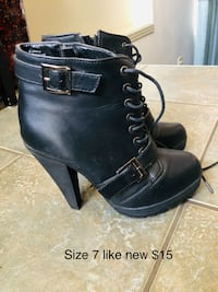 Size 7 like new  Edmonton, T5Z