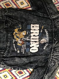 black and white denim Bruno jacket Las Vegas, 89106