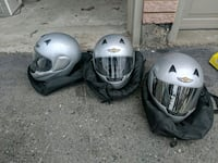 Harley Davidson Helmets XS M and XL Whitchurch-Stouffville, L4A 1J9