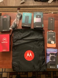 Never opened moto Z3 and Mods Citrus Heights, 95610