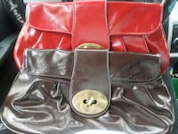 Red and Brown leather bags 904 mi