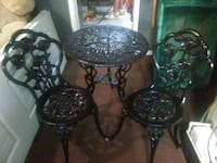 3pc cast iron patio set Greeley, 80631