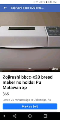 Bread maker Cash only! Matawan, 07747