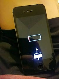 Black Iphone 4 no cracks perfect condition Biloxi, 39532