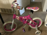toddler's pink and white bicycle Battle Creek, 49015