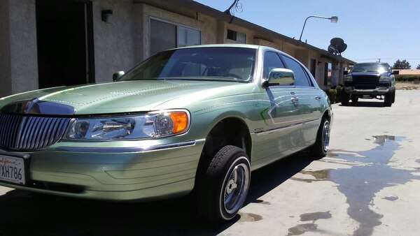Used Silver Lincoln Town Car Lowrider For Sale In California Letgo