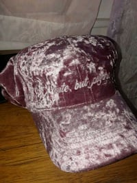 "Pink Fury hat ""cute but pysco"""