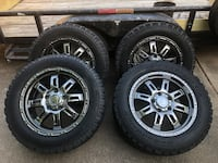 """Tundra 20"""" rims and tires.   40000 miles on tires"""