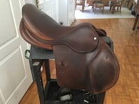 brown leather padded massage chair Knoxville, 21758