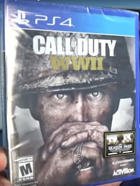 Call of duty wwii ps4 game - new