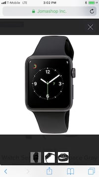 Black apple watch with black sports band Tucson, 85705