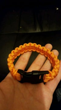orange and black survival bracelet Deltona, 32725