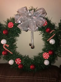 """Christmas Wreaths & 21"""" candy canes  Norfolk, 23505"""