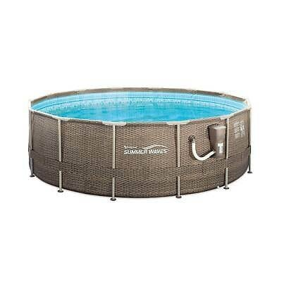 Summer Waves 14ft x 48in Frame Swimming Pool w/ Ladder and Pump b1e852cf-e270-4678-9a9d-884f636a024b