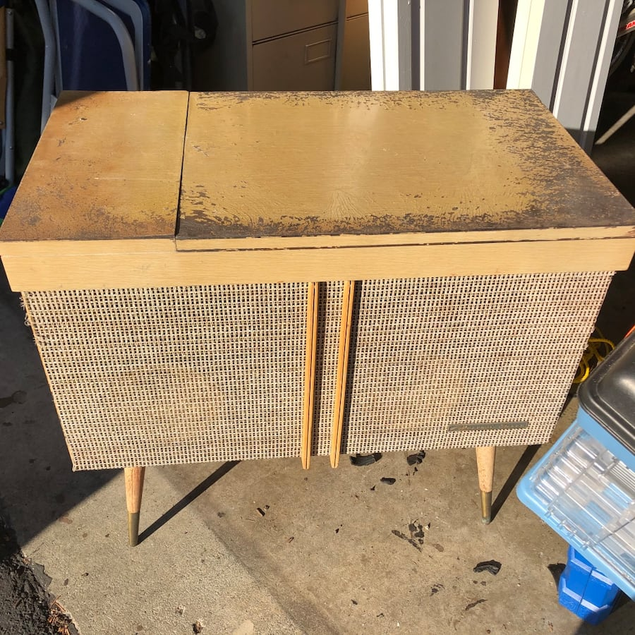 Antique Marconi Stereo console