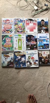 Mostly Wii Games, some PS Diamond Bar, 91765