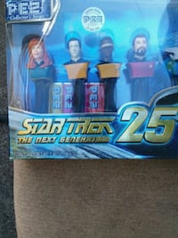 25th star Trek Pez collection series  Vancouver, 98685