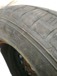 4 winter tires on rims Guelph, N1G 1S7