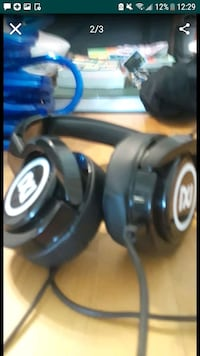 black and blue corded headphones San Diego, 92115